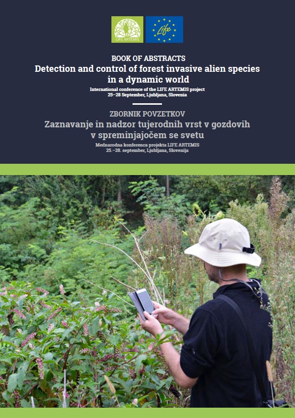 Detection and control of forest invasive alien species  in a dynamic world