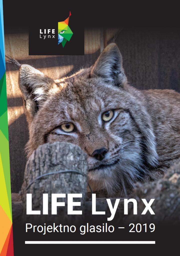 Projektno glasilo LIFE Lynx