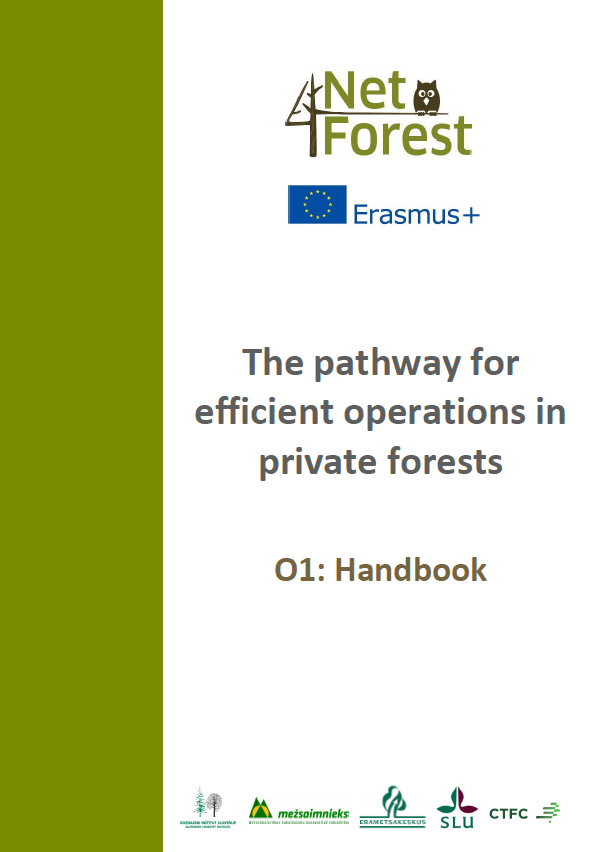 The pathway for efficient operations in private forests