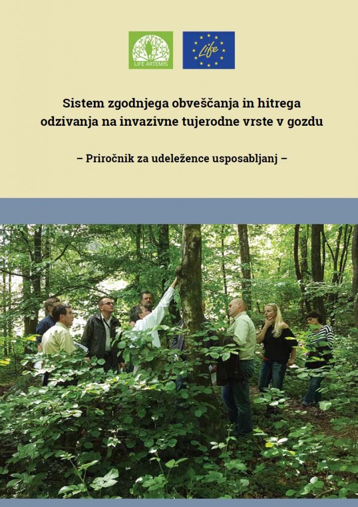 Sistem zgodnjega obveščanja in hitrega odzivanja na invazivne tujerodne vrste v gozdu
