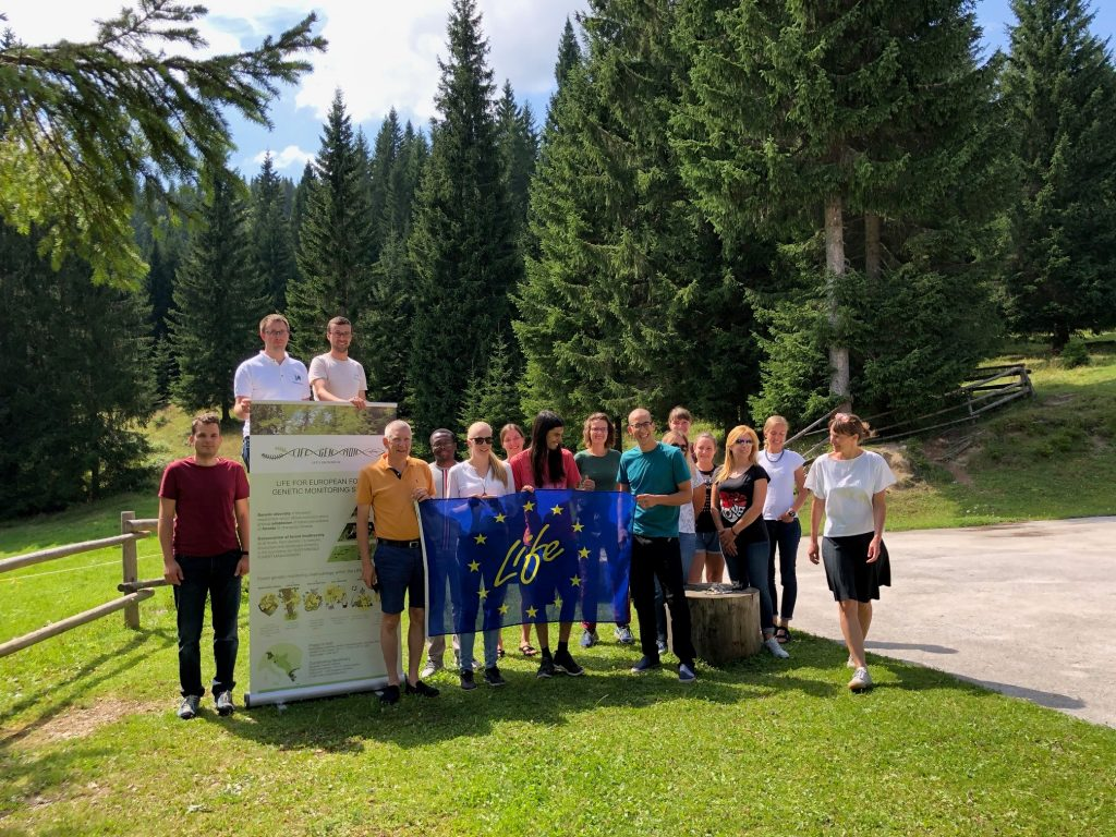 Summer school on scientific writing, reviewing and publishing & Forest genetic monitoring knowledge transfer into practice